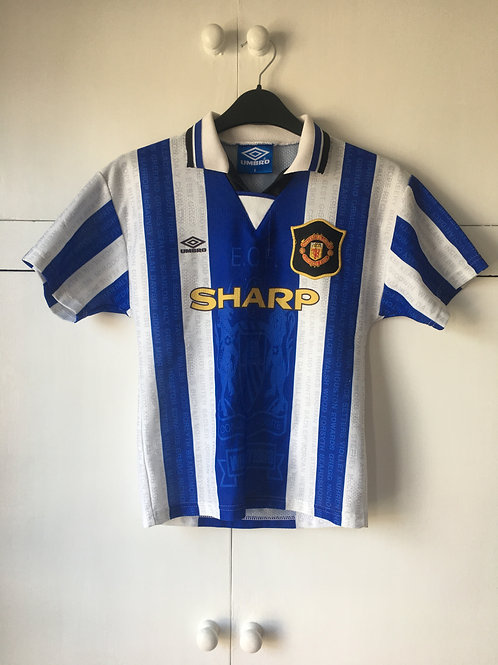 1994-96 Manchester United Third Shirt (Very Good) B