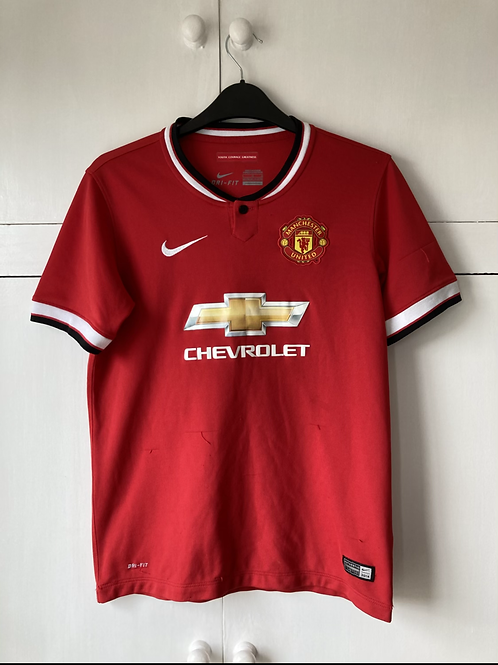 2014-15 MANCHESTER UNITED HOME SHIRT (VERY GOOD) Large Boys