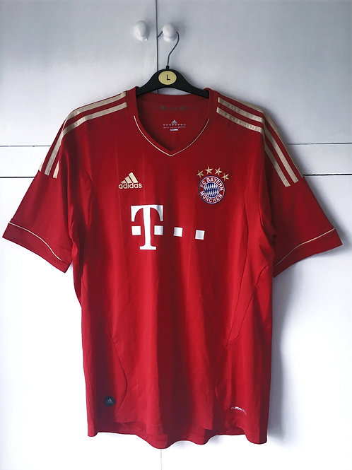2011-13 Bayern Munich Home Shirt (Good) L