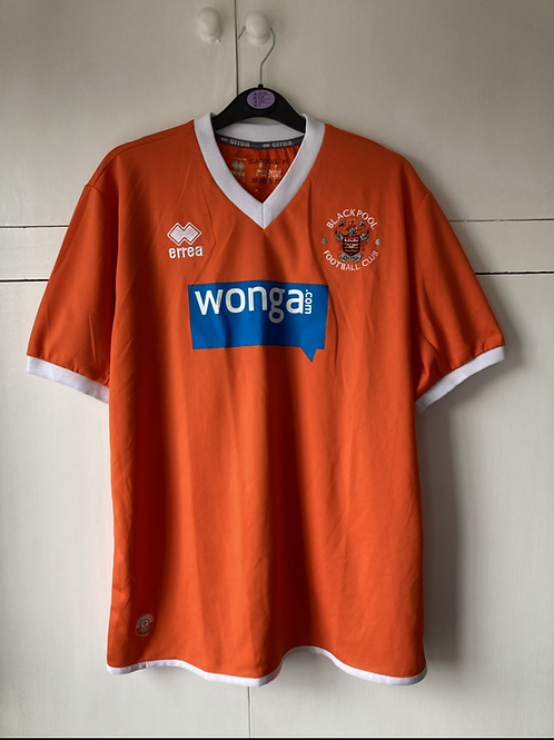 2013-15 BLACKPOOL HOME SHIRT (EXCELLENT)  S
