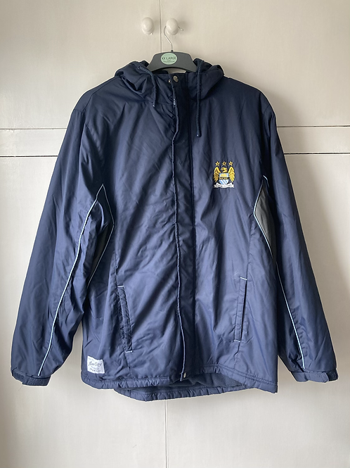 2009-10 Manchester City Padded Jacket (Excellent) L