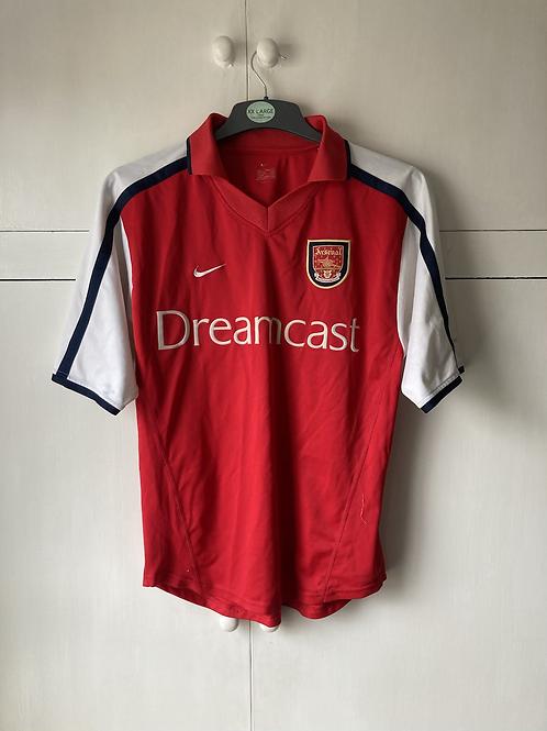 1999-00 Arsenal Home Shirt (Excellent) M