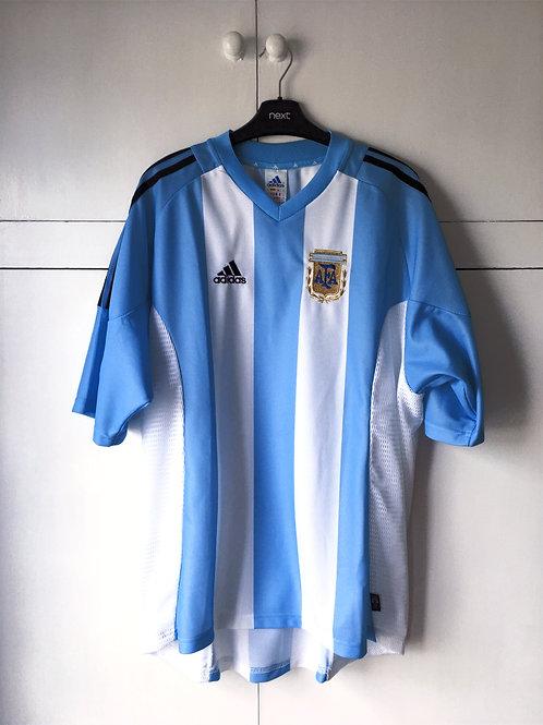2002-04 Argentina Home Shirt (Excellent) XL