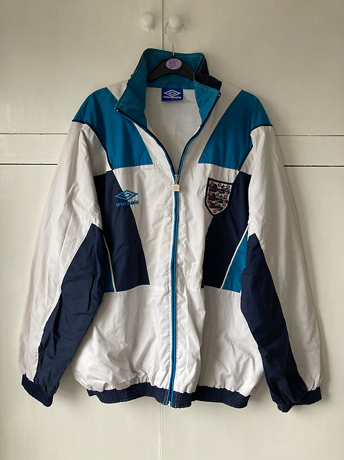 1995-96 ENGLAND UMBRO TRAINING JACKET (EXCELLENT) XL
