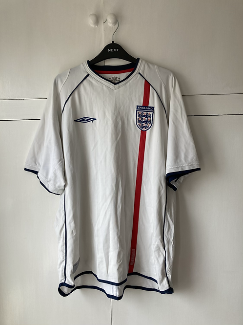 2001-03 England Home Shirt (Good) XXL