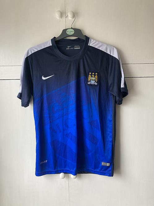 2015-16 Manchester City Nike Training Shirt (Excellent) XL