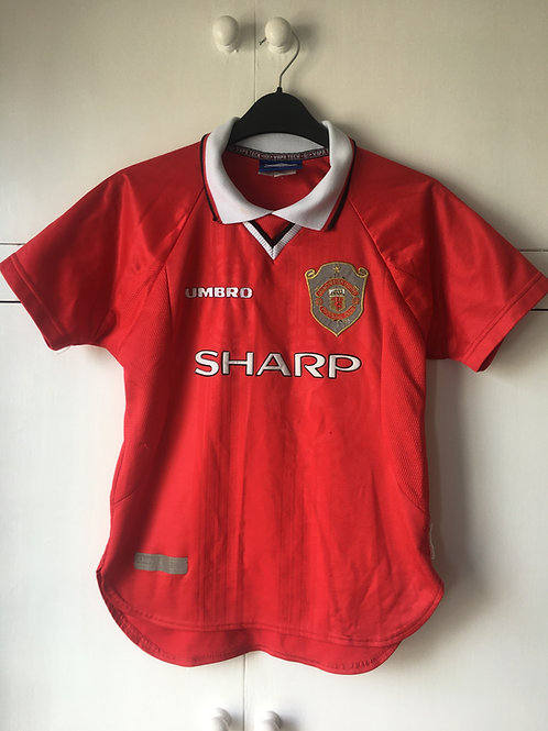1997-00 Manchester United CL Shirt (Excellent) M.Boys
