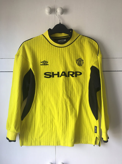 1999-00 Manchester United GK Shirt (Very Good) Y/XXS