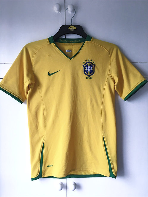 2008-10 Brazil Home Shirt (Very Good) L.Boys