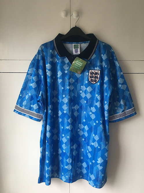 1990-92 England Third Kit *BNWT* (Excellent) XL *Reproduction*