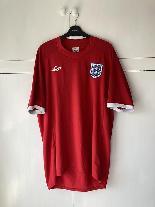 2010-11 England Away Shirt (Excellent) XL
