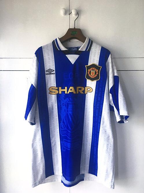 1994-96 Manchester United Third Shirt (Excellent) XXL