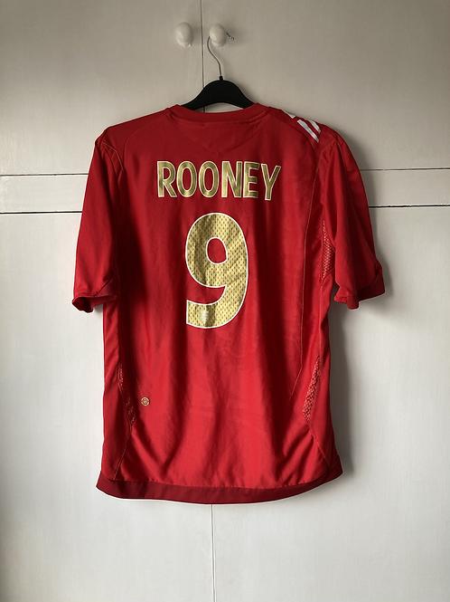 2006-08 ENGLAND AWAY SHIRT ROONEY #9 (EXCELLENT) L
