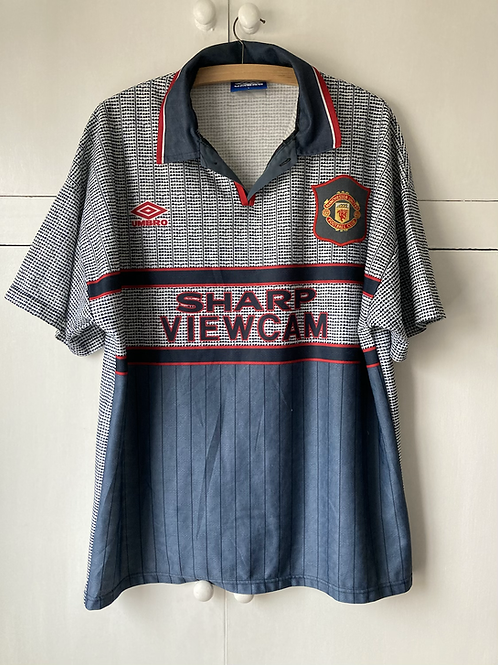 1995-96 MANCHESTER UNITED AWAY SHIRT (EXCELLENT) L