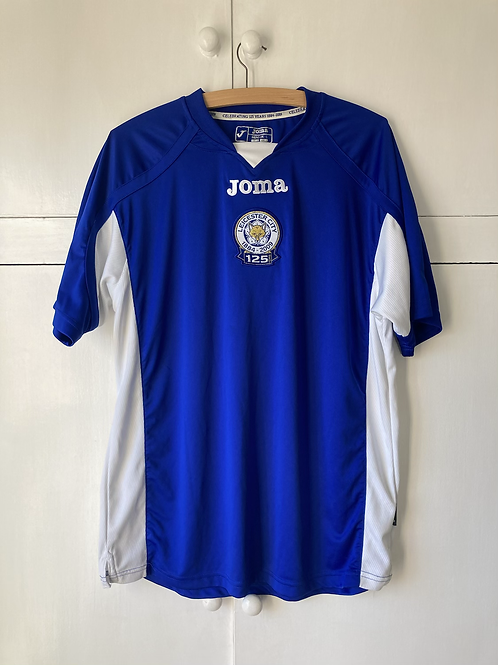 2009-10 LEICESTER '125 YEARS' HOME SHIRT (EXCELLENT) L