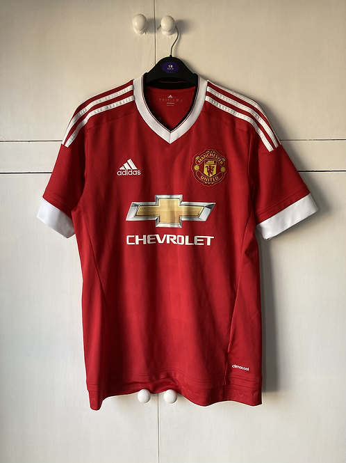 2015-16 MANCHESTER UNITED HOME SHIRT (EXCELLENT) S