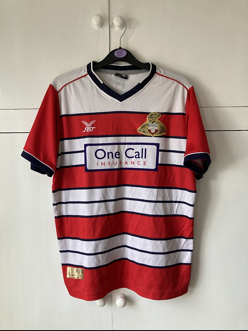 2016-17 DONCASTER ROVERS HOME SHIRT (EXCELLENT) S