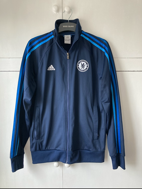 2009-10 CHELSEA ADIDAS TRACK TRAINING TOP (EXCELLENT) S