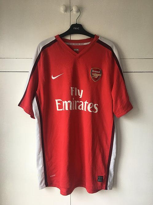2008-10 Arsenal Home Shirt (Excellent) XL