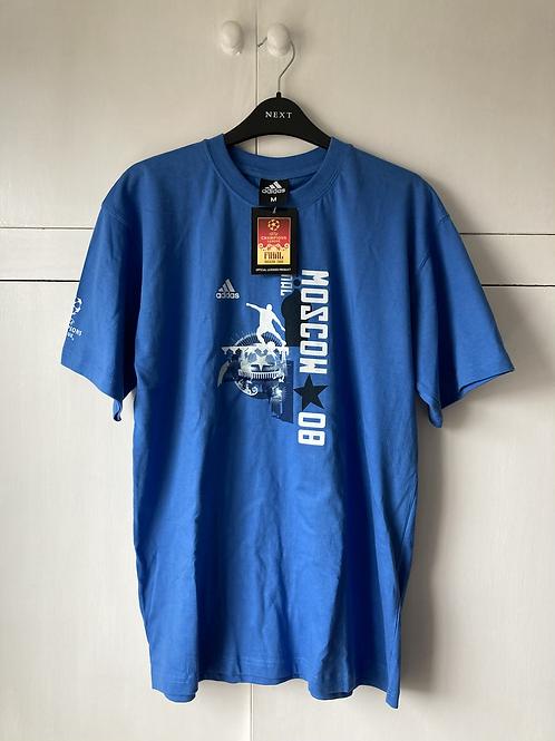 2008 Champions League Final T-Shirt *BNWT* M