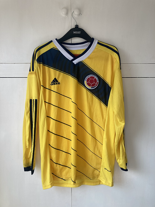 2014-15 Colombia Home Shirt L/S (Excellent) M
