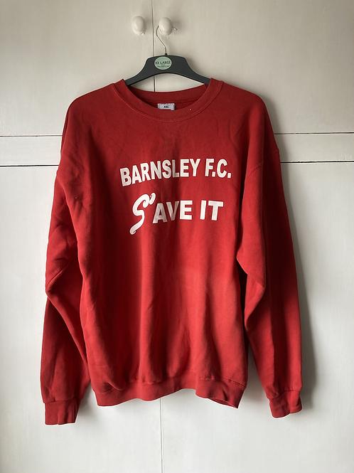 2002 'Save' Barnsley FC Jumper (Good) XXL