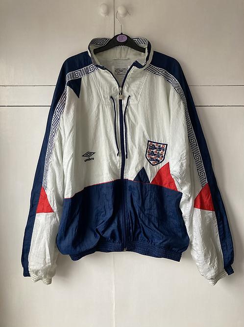 1990-92 England Umbro Shell Jacket (Very Good) XL