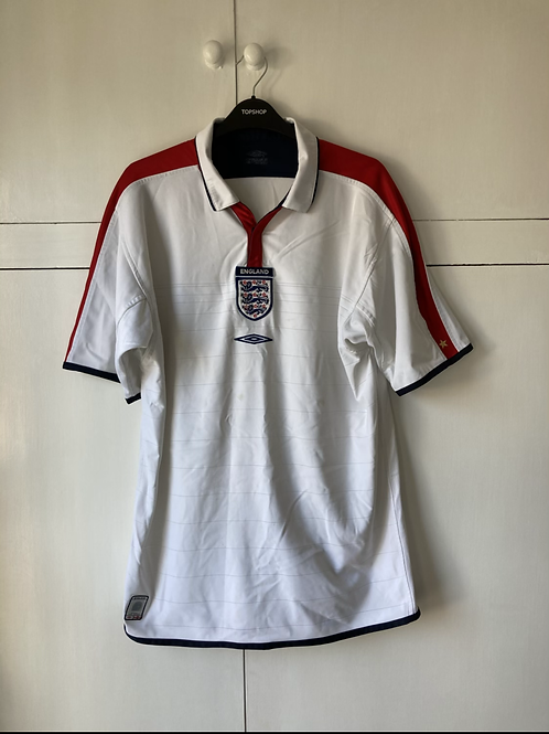 2003-05 England Home Shirt (Excellent) L
