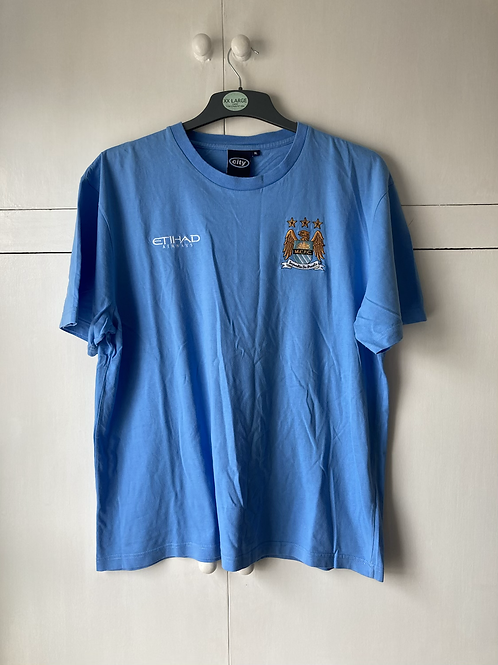 2015-16 Manchester City Supporters T-Shirt (Excellent) XL
