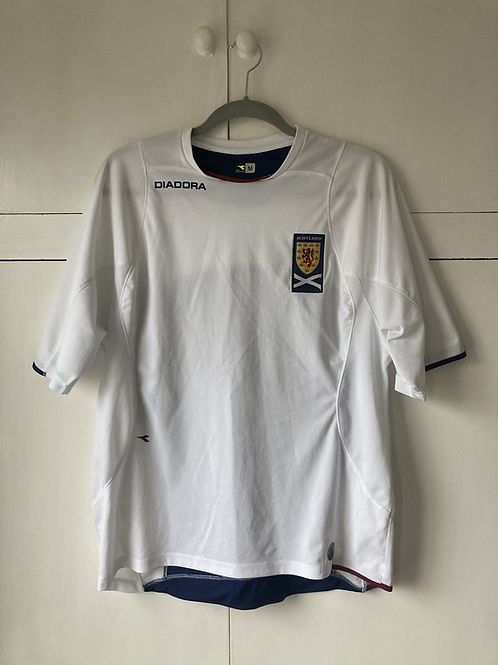 2003-05 SCOTLAND TRAINING SHIRT (EXCELLENT) M