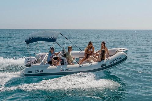 Barca SELVA 5 MTS  40/ 15 CV
