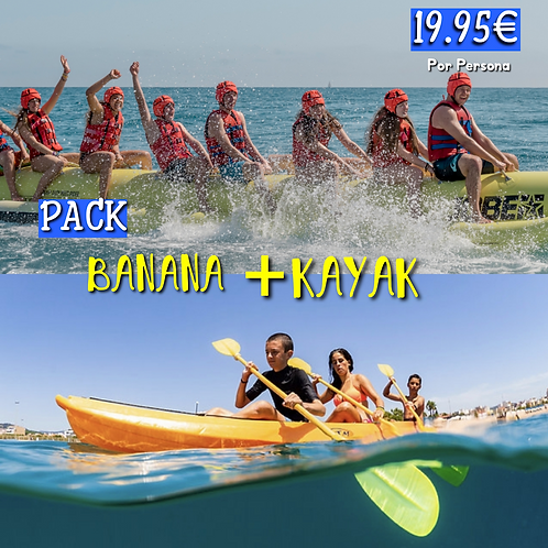 Pack Banana + Kayak