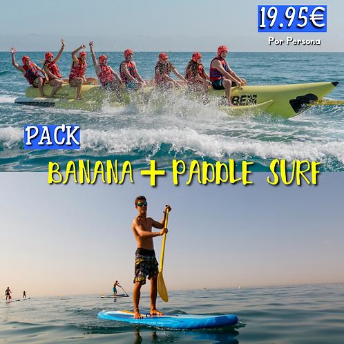 Pack Banana + Paddle Surf