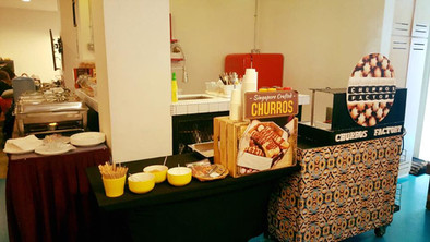 churros live station office Party