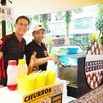 churros live station family day