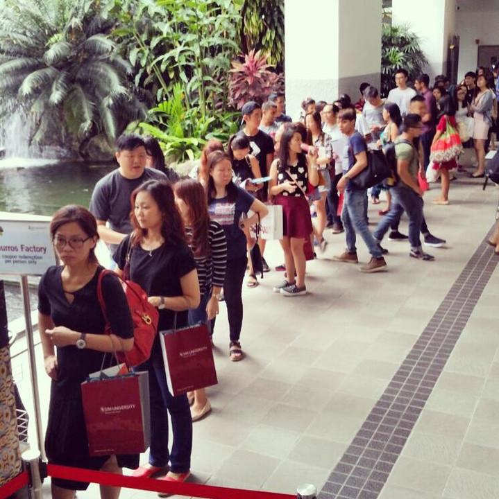 UniSIM Student Event - Churros Live Station