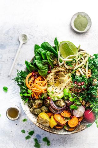 Vegan abundance bowl