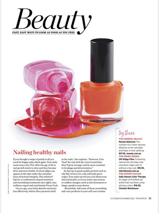 Nailing healthy nails - Prevention