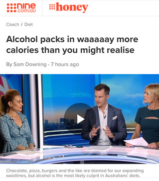 Alcohol packs in waaaaay more calories than you might realise