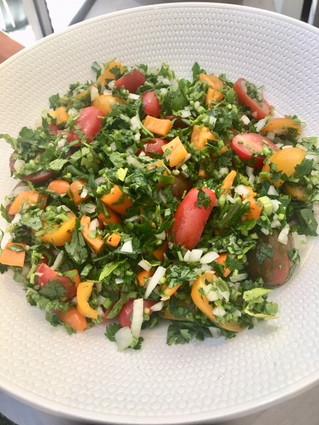 Tomato Tabouli Salad
