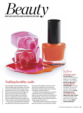 Nailing healthy nails - Prevention Oct/Nov 2020