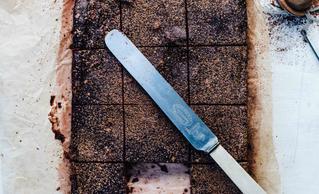 Sugar Free Chocolate and Walnut Brownies