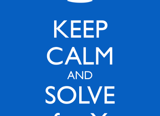 """Solve for """"X"""""""