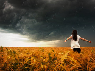 Shelter from the Storm, or Shelter in the Storm?(A Lesson from Psalm 55)