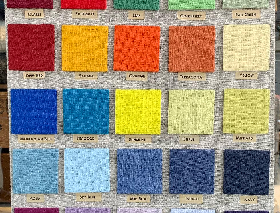 Cloth Shop Linen - Colours