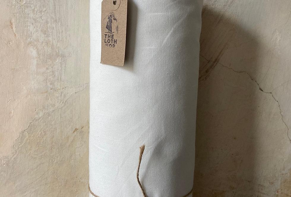 Plain White Cotton