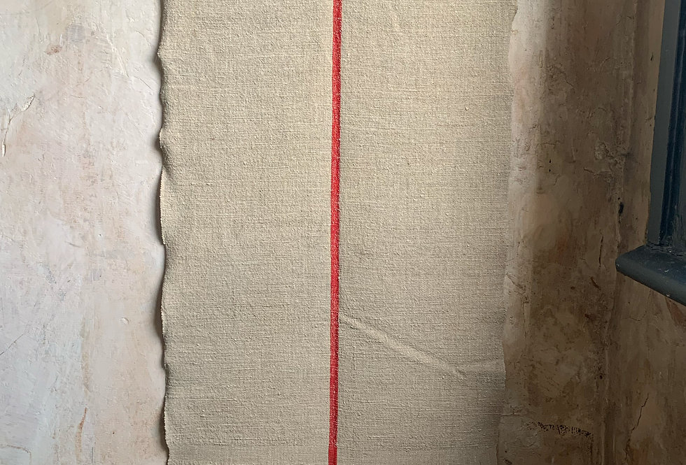 Vintage Linen Runner No.6
