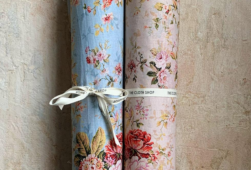 Premium Cotton Print - English Rose