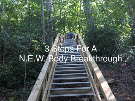 3 Steps to A N.E.W. Body Breakthrough