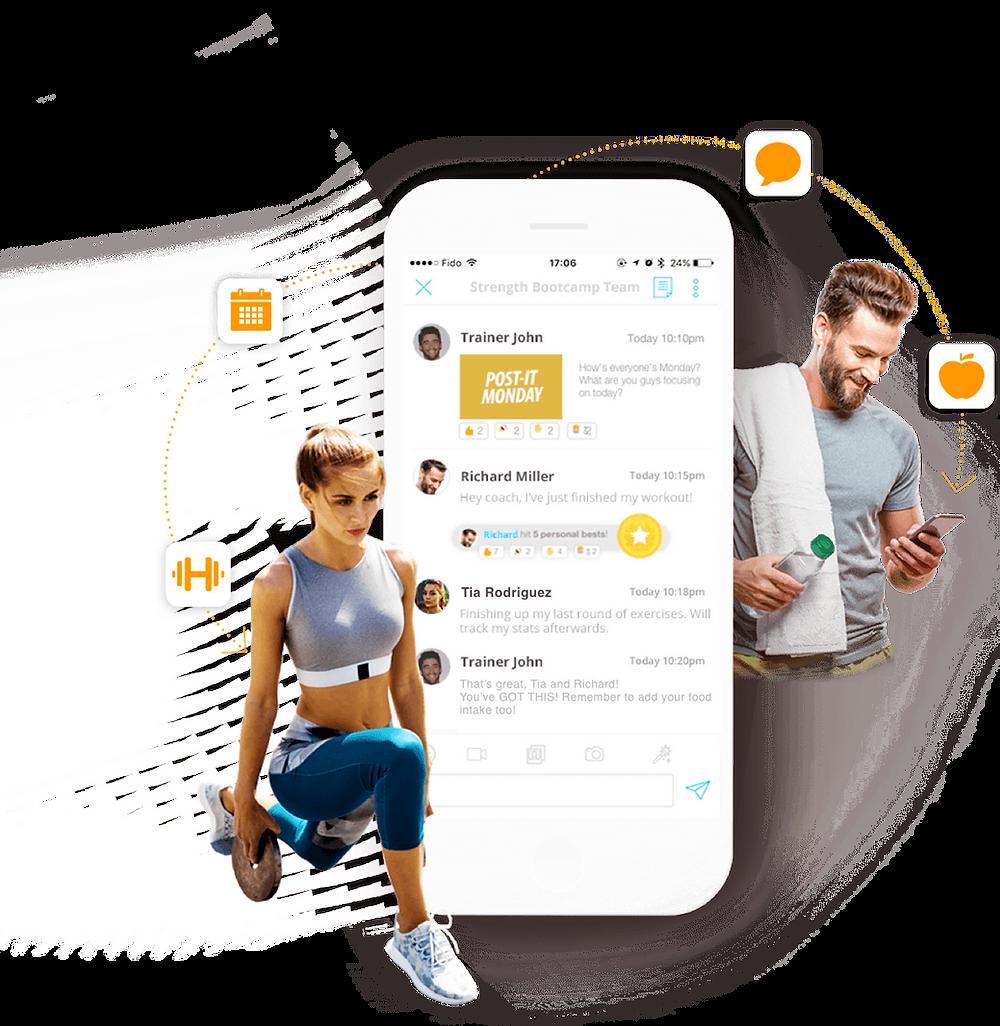 Online training & nutrition app